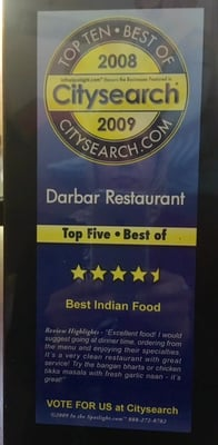 Darbar Fine Pakistani & Indian Cuisine
