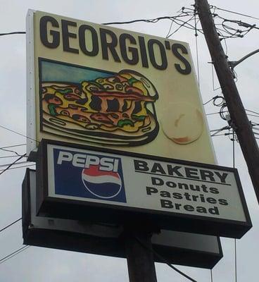 Georgio's Pizzza Doughnut