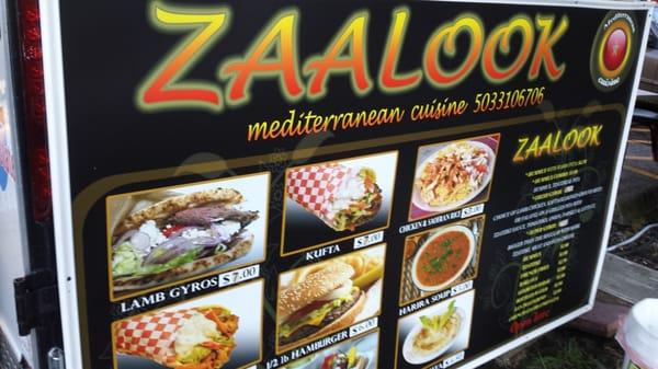 Zaalook Mediterranean Food Cart