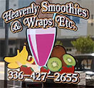 Heavenly Smoothies And Wraps Etc