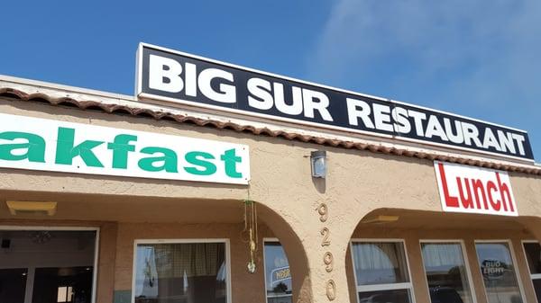 Big Sur California Cafe