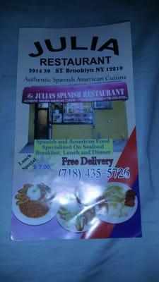Julia's Spanish Restaurant