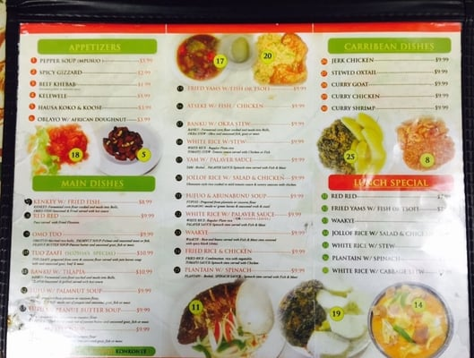 Nyame Ye African and Caribbean Restaurant