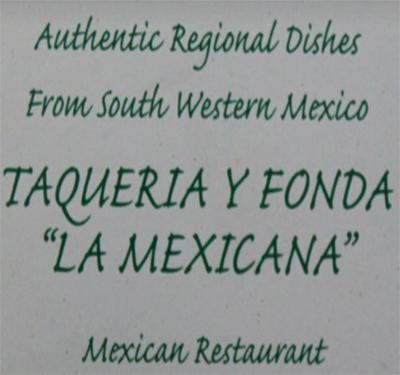Taqueria y Fonda la Mexicana
