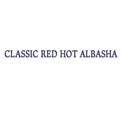 Classic red hot albasha