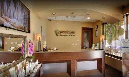 Organic Spa Massage and Skin Care