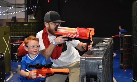 Battlefield-Nerf Gun Wars