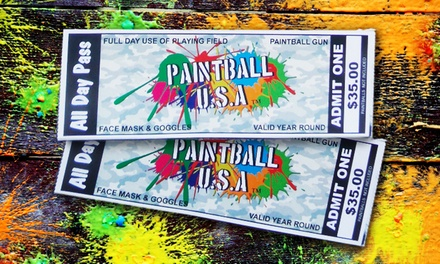 Paintball USA Tickets