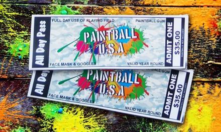Paintball USA Tickets