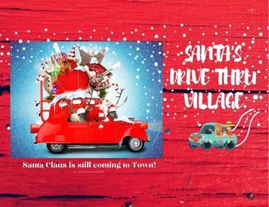 Santas Drive Thru Village