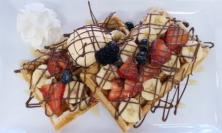 Crepella Crepes & Waffles Cafe